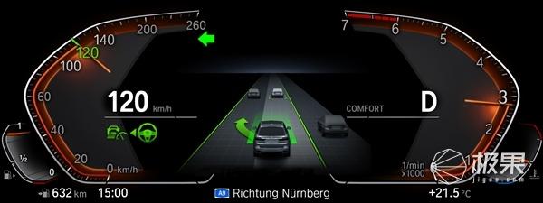 宝马推出新款城市巡航系统,3系/5系/X3等车型均将搭载!