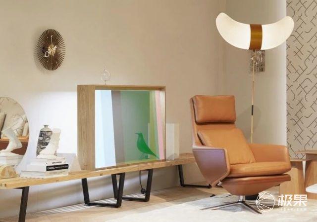 超科幻!松下将透明OLED面板嵌入智能家居