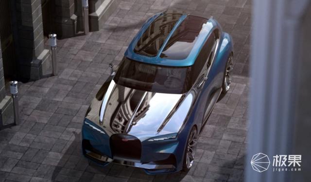 布加迪SUV斯巴达克斯曝光!1000马力发动机,百公里加速2.9秒
