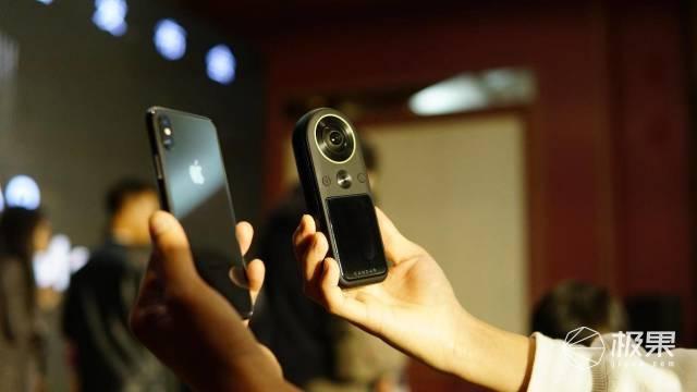 3998拍8KVR?全球首款便携式8K全景相机发布,还能一机多用……