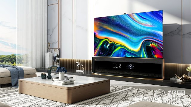 电视老大重新定义8K电视,海信发布全球首款8KPro双屏电视