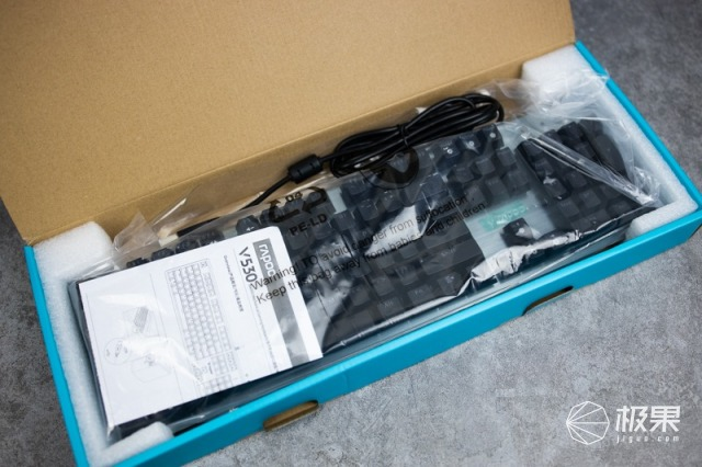 IP68防水防尘,自主红外银轴,雷柏V530开箱体验