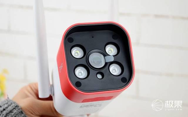 新一代平民安防好帮手,安防监控新秀|360智能摄像机红色