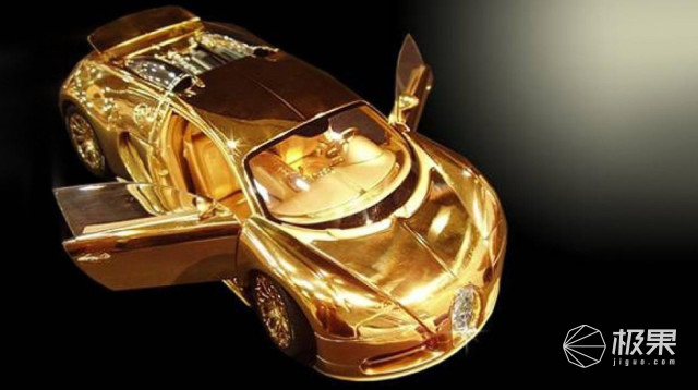 比真车还贵!英国珠宝商打造78万超奢华车模,大灯竟是钻石造?