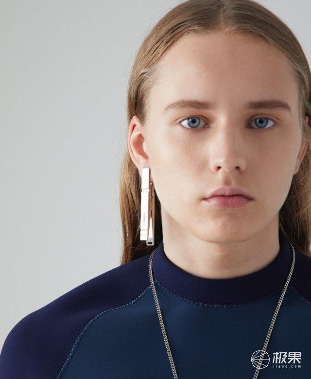 AMBUSH推出衣夹款多色耳饰,开价400美元