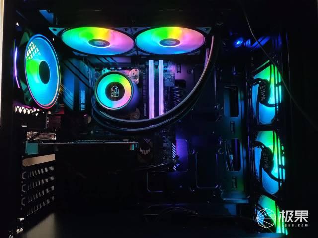 RGB补完计划之机箱里超靓的仔,科赋CRASXRGB
