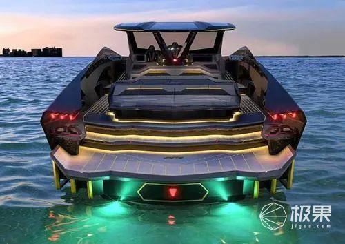 兰博基尼造了个比跑车更猛的新玩意!4000匹马力+水上超跑,造型亮瞎双眼......