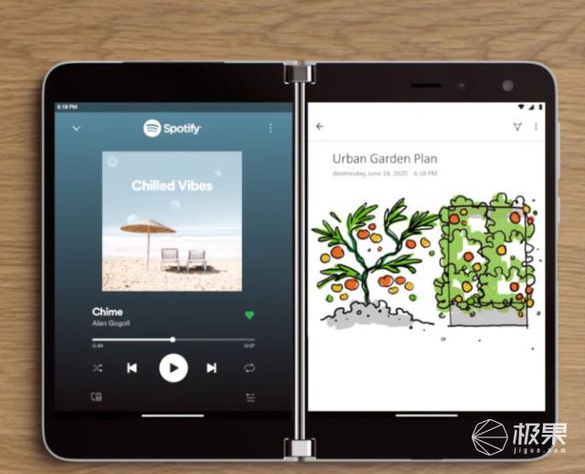 微软双面屏手机SurfaceDuo正式发布,售价高达9564元