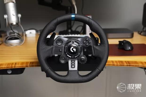 罗技发布G923游戏赛车方向盘,具有先进动力反馈系统,售2782元