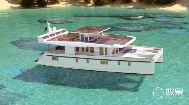 游艇中的特斯拉来了!Serenity环保游艇将使用太阳能发电