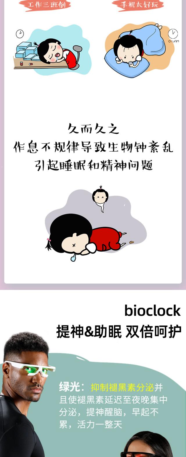 bioclock智能生物鐘眼鏡