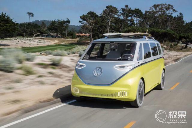 大众「火爆全球」老爷车复刻!首款自动驾驶电车,续航600公里…