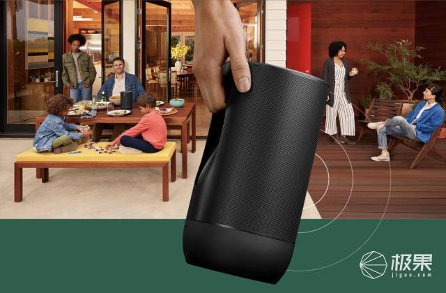蓝牙+Wi-Fi突破限制!Final-1.SonosMove中国发售,售价3980元