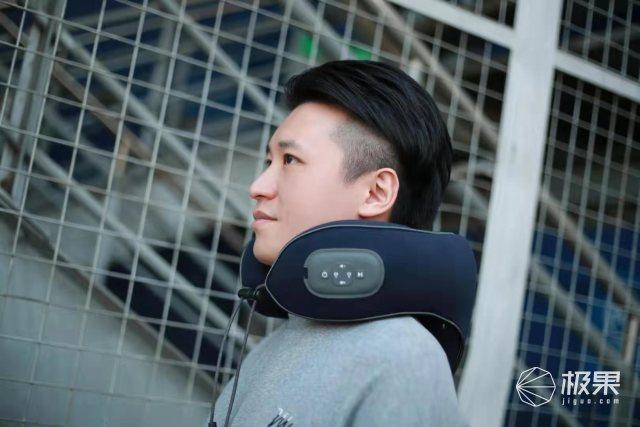 科技新潮音乐颈部按摩仪引领按摩仪的品类升级
