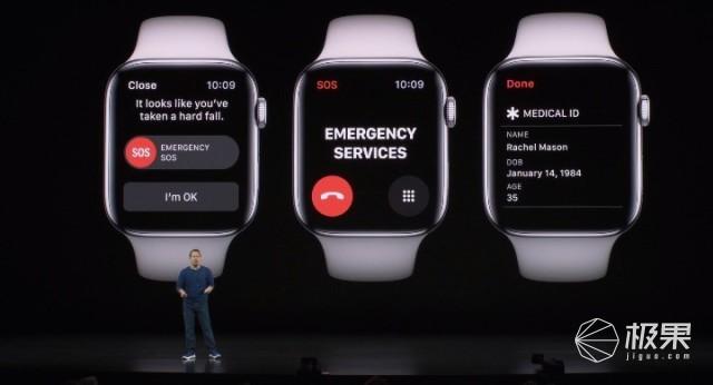 2019苹果秋季发布会:全新AppleWatch亮相,新增多种健康模式,399美元起