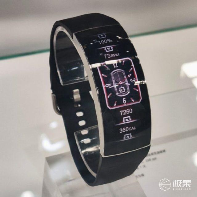 华米曲面屏手表AmazfitX上架众筹平台,售价1055元,预计8月上市