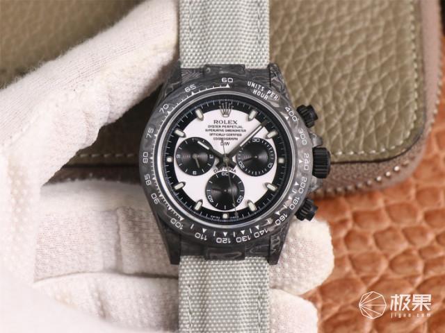TW厂劳力士迪通拿DIW定制版碳纤维腕表有哪些亮点?