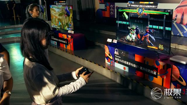 游戏达人齐称赞,新影音带您现场实测海信游戏电视是否给力