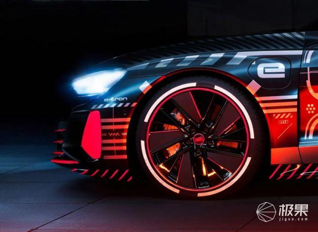 奥迪电动轿跑发布!零百加速3.3秒、充电5分钟能跑百公里!