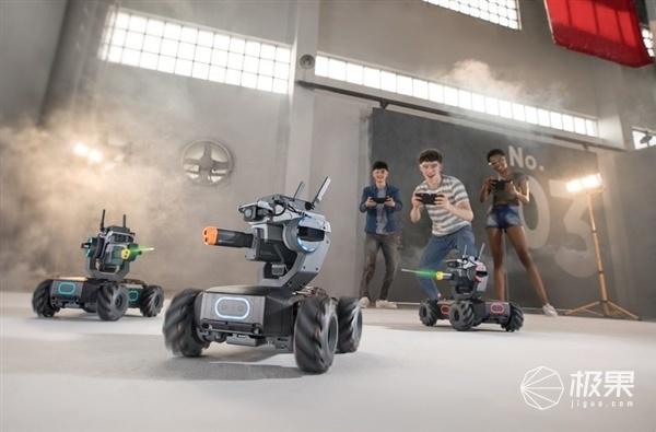 「新東西」迷你步兵戰車!大疆發布機甲大師S1教育機器人