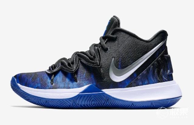 "NikeKyrie5""Duke""PE下周发售!蓝色火焰加身的实战利器!"