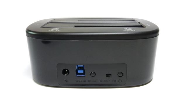 奥睿科6223US3-C硬盘底座:一键备份克隆,老硬盘的新生