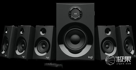 罗技(Logitech)Z606环绕立体声扬声器