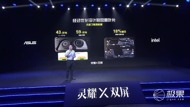 华硕万元笔记本发布:双屏触控交互,支持多任务处理!
