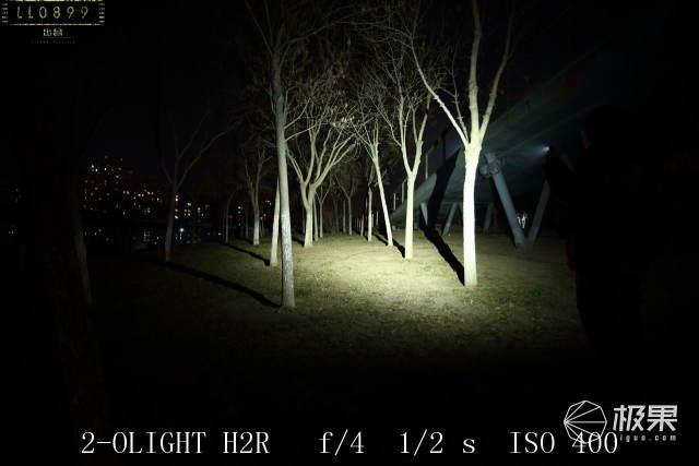 又亮又安全2000流明OLIGHTPERUN雷神拐角灯