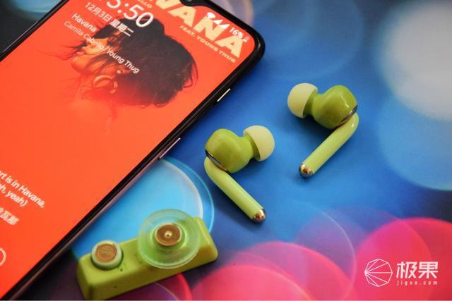 """带遥控器的真无线蓝牙耳机?猫王收音机·潮无线ONE""""非同凡"""