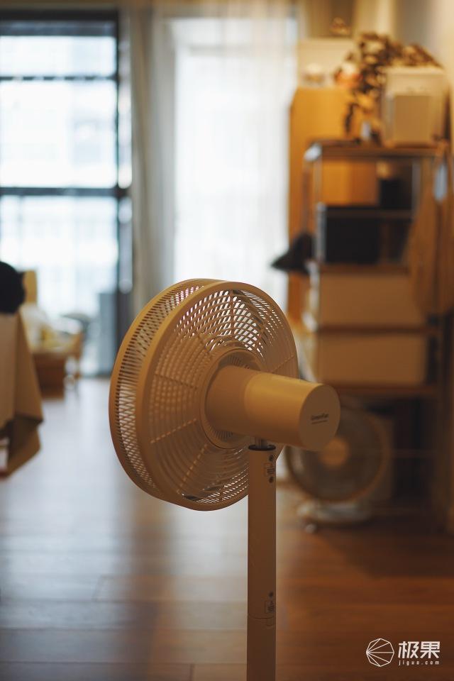 3000块的日本黑科技风扇吹出的风究竟啥感觉?把大自然的风搬回家