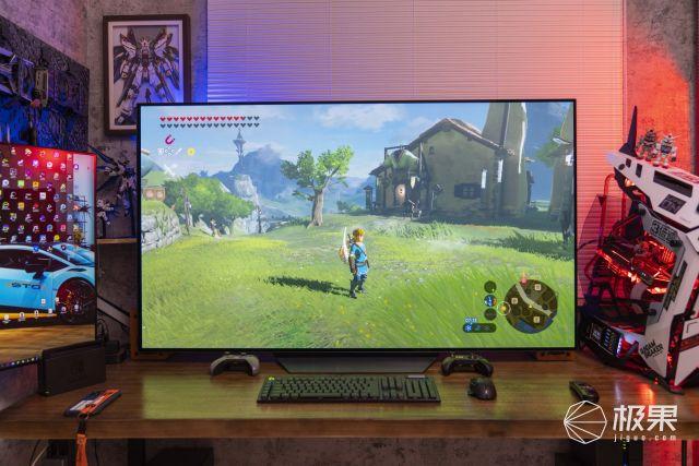 65寸大屏打造專屬游戲影音室:LGB165寸OLED電視