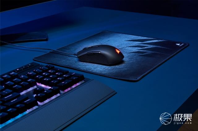 「新东西」排列组合玩上瘾?海盗船推出两款RGB鼠标新品