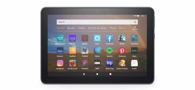 亚马逊推出三款FireHD8平板电脑,支持无线充电,638元起