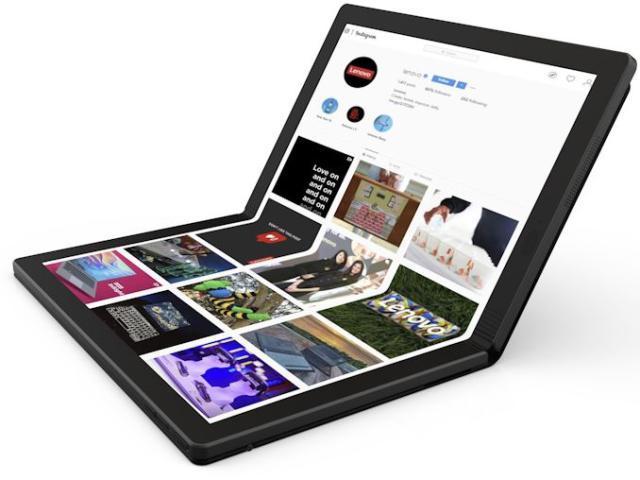 抢先微软!联想官宣折叠屏ThinkPadX1将于明年出货