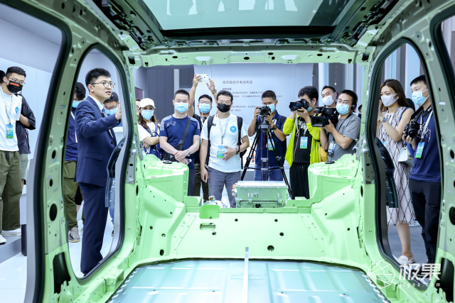 极狐汽车解密车身架构:钢铝混合车身让整车更安全