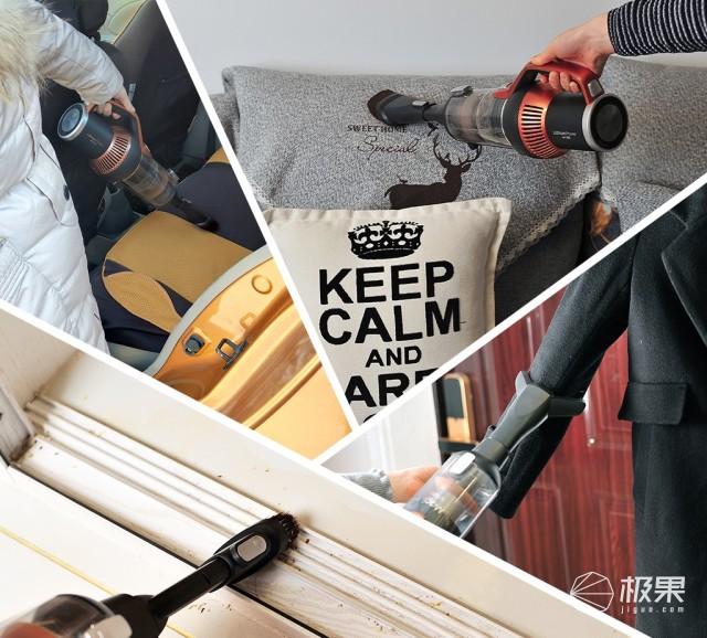 提高舒适度!升级版无线吸尘器|莱克魔洁M12S体验总结
