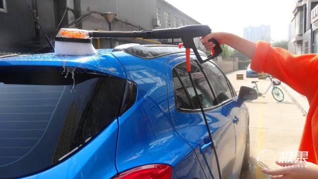 车脏了不用愁你的私人洗车助理绿田悟空洗车机