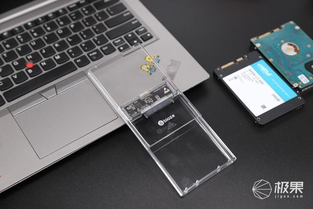 一秒变移动硬盘,全透明款毕亚兹移动硬盘盒2.5英寸评测