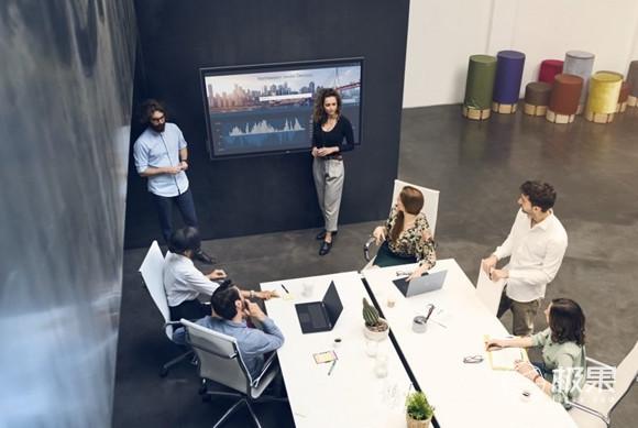 「新东西」对标SurfaceHub,戴尔推出75寸4K巨幕显示器