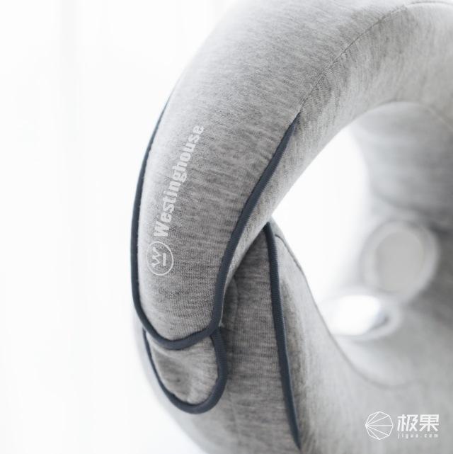 美国西屋蜗牛枕U型颈椎按摩器