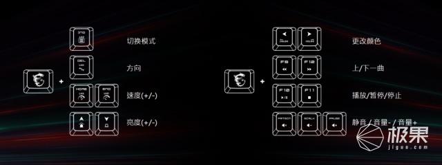 【新品】MSI/微星GK30/GM11游戏键盘鼠标