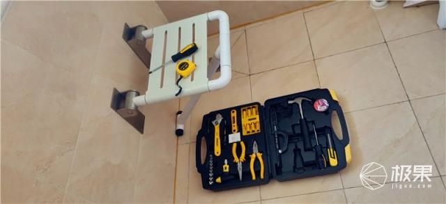 家庭必备维修工具,史丹利Stanley45件套家用工具箱套装
