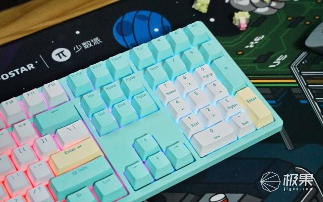 没有最好,只有更好!HELLOGANSSHS108T机械键盘