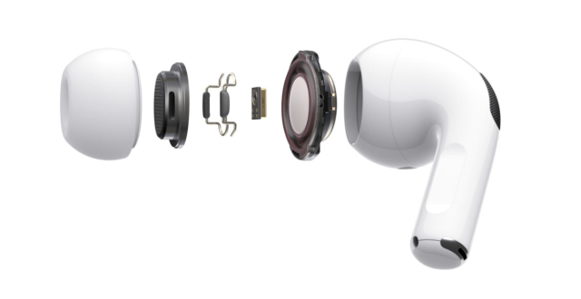 苹果(Apple)AirPodsPro主动降噪无线蓝牙耳机
