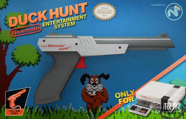 """爷青回!老外开发新光枪,随便找块屏幕都能""""打鸭子""""!"""