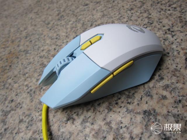 鼠标也玩个性化,专为女生打造的达尔优EM910轻量化鼠标