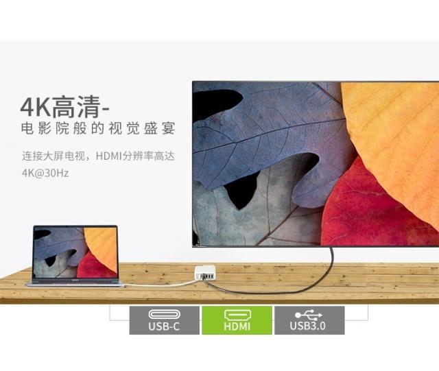 苹果(Apple)Macbook电源一体式扩展坞