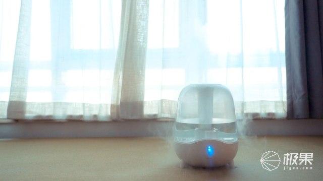 德尔玛(Deerma)家用静音空气加湿器
