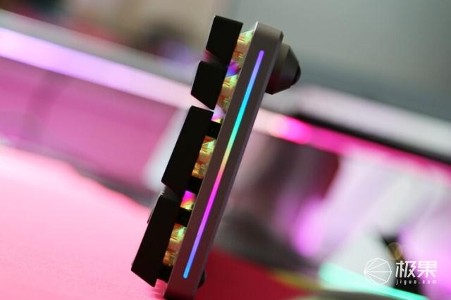 铝厂新成员:DarmoSharkK196配列无线机械键